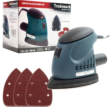 Trademark Tools 28-Piece Mouse Sander Set