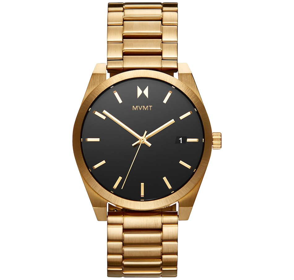 """Image 679131.jpg , Product 679-131 / Price $170.00 , MVMT - Men's - Element """"Aether Gold"""" Gold Bracelet Men's Watch from MVMT on TSC.ca's Jewellery department"""