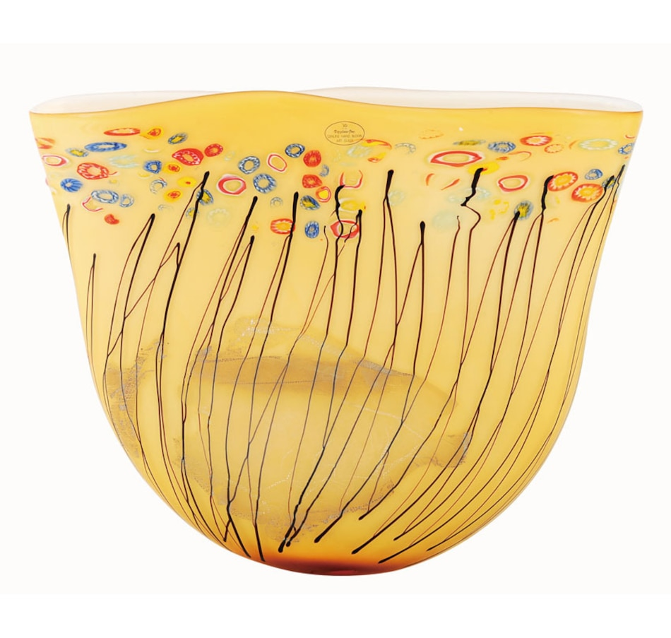 Image 683162.jpg , Product 683-162 / Price $92.25 , Fine Art Glass Hand-Blown Curved Glass Vase from Fine Art Lighting on TSC.ca's Home & Garden department