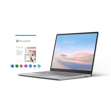 "Microsoft Surface Laptop Go 12.4"" Touchscreen Bundle"