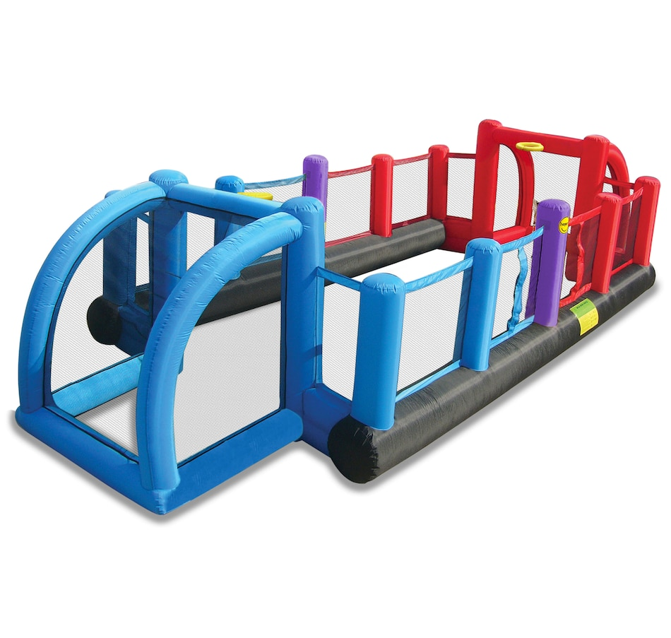 Image 685505.jpg , Product 685-505 / Price $699.99 , Happy Hop Inflatable 3-in-1 Soccer Field from Happy Hop on TSC.ca's Home & Garden department
