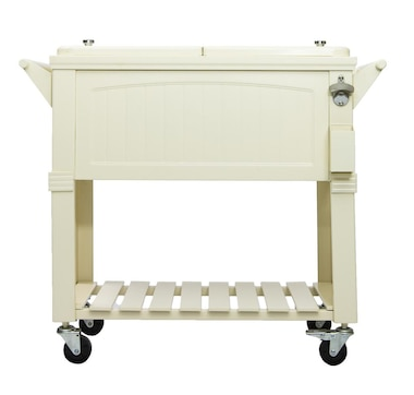 Permasteel Furniture Style Patio Cooler 80 Qt.