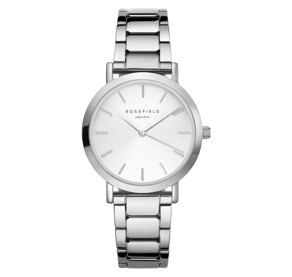 Image 686618.jpg , Product 686-618 / Price $159.00 , Rosefield The Tribeca Silver Watch from Rosefield on TSC.ca's Jewellery department