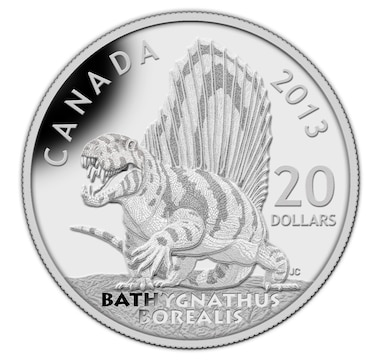 Choice of Three $20 Fine Silver Coins: Bathygnathus or Xenoceratops or Scutellosaurus