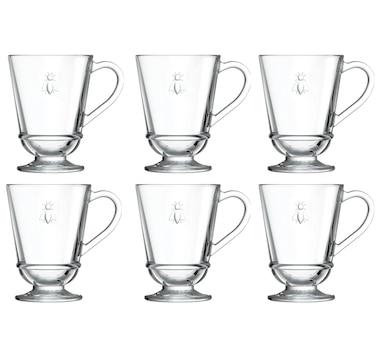 La Rochere Bee Mug Glassware - Set Of 6