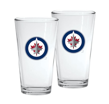 NHL Winnipeg Jets 2pk 16oz. Mixing Glass Set