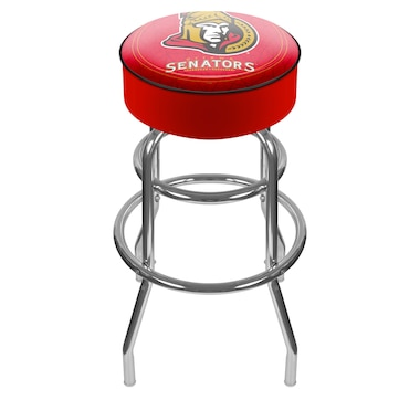 NHL Ottawa Senators Padded Bar Stool