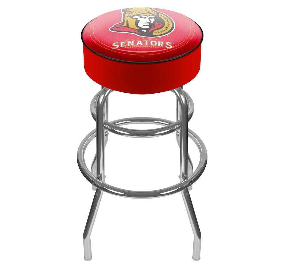 Image 690978.jpg , Product 690-978 / Price $129.99 , NHL Ottawa Senators Padded Bar Stool  on TSC.ca's Home & Garden department