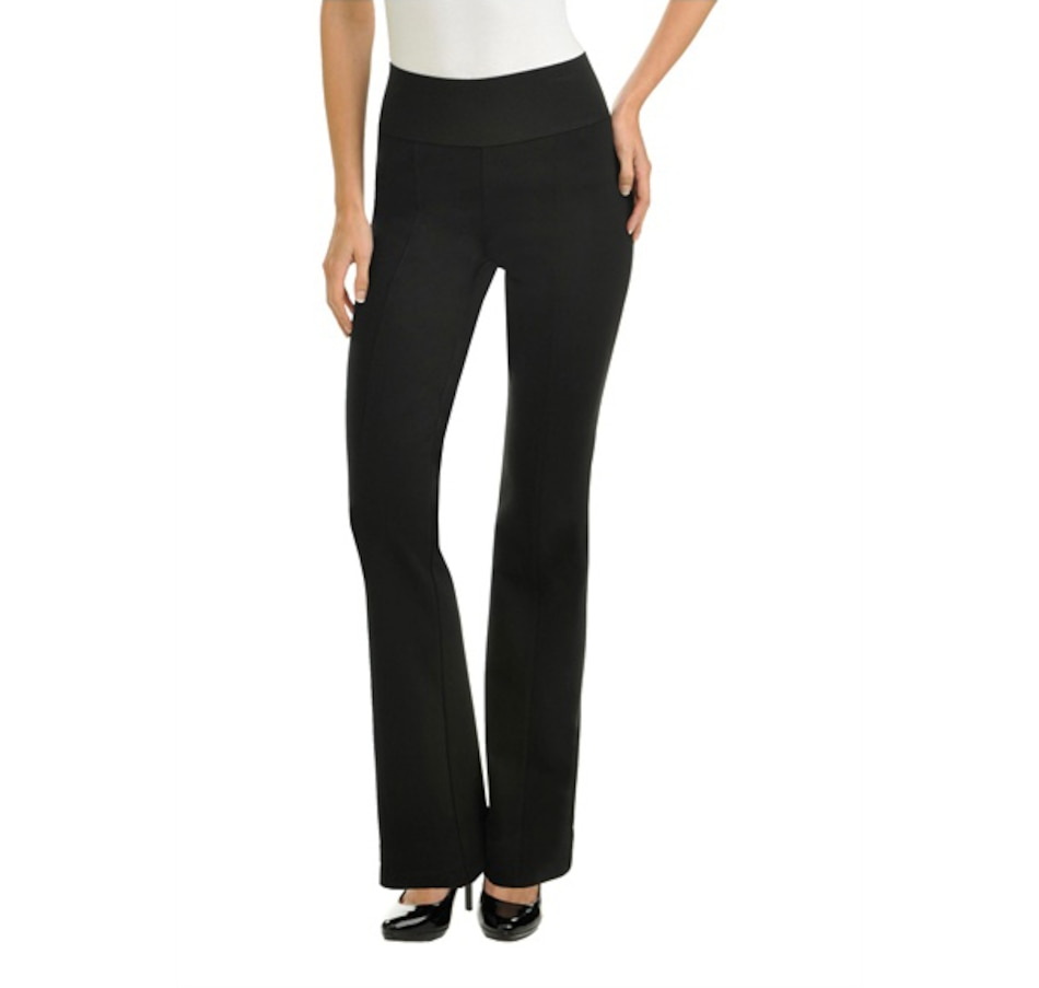 Image 691217_BLK.jpg , Product 691-217 / Price $49.00 , Nygard SLIMS Bootcut Pants from Nygard Slims Fashion on TSC.ca's Fashion department