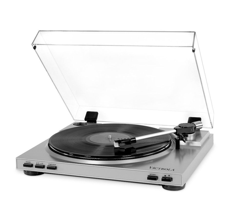 Image 691307.jpg , Product 691-307 / Price $139.99 , Victrola Pro USB Record Player with 2-Speed Turntable and Dust Cover from Victrola on TSC.ca's Electronics department