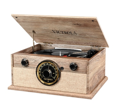 Victrola 4-in-1 Bluetooth Turntable with FM Radio