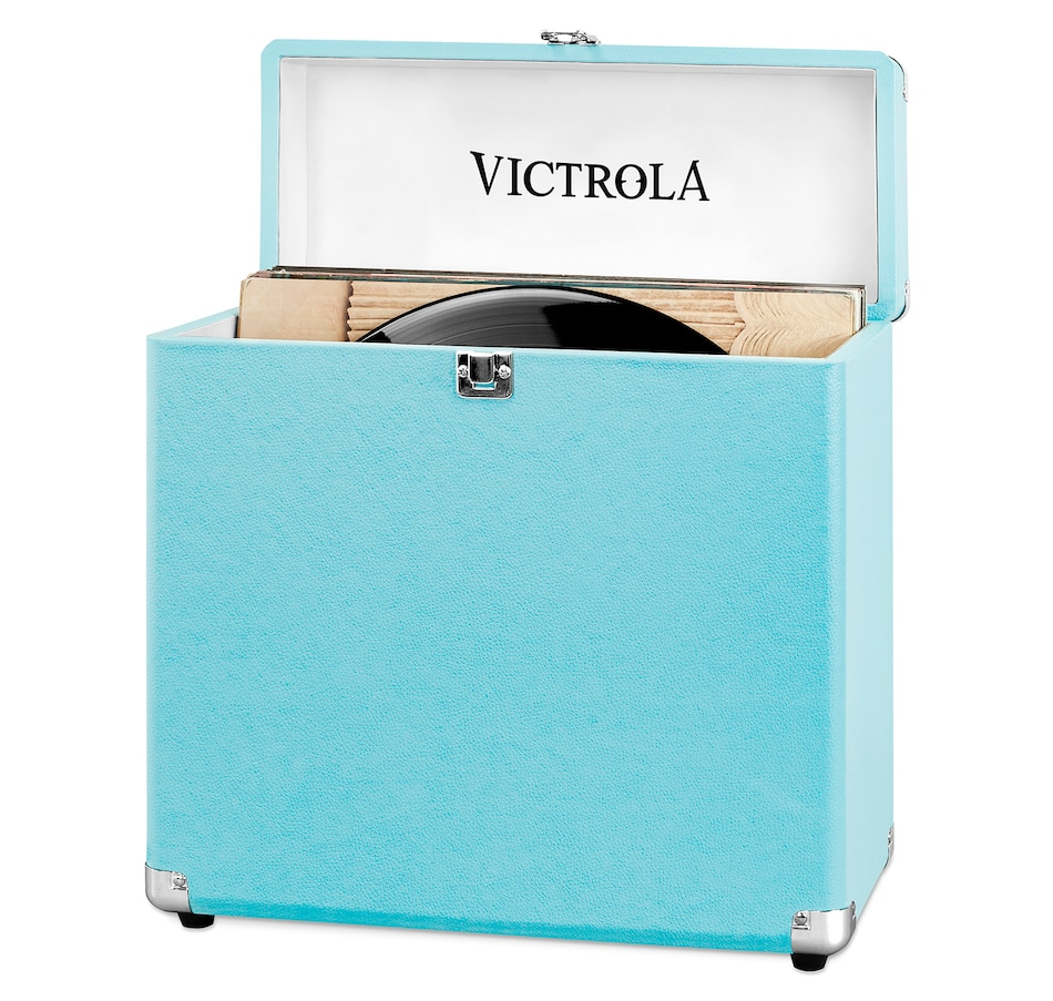 Image 691318_TRQ.jpg , Product 691-318 / Price $51.99 , Victrola Storage Case for Vinyl Turntable Records from Victrola on TSC.ca's Electronics department