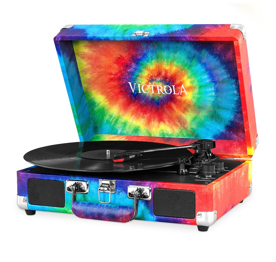 Image 691319_TD.jpg , Product 691-319 / Price $82.99 , Victrola Bluetooth Suitcase Record Player with 3-Speed Turntable from Victrola on TSC.ca's Electronics department
