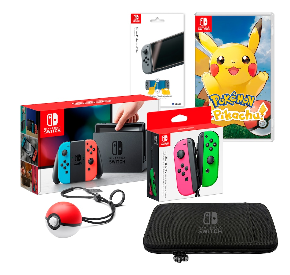 Image 691328.jpg , Product 691-328 / Price $699.99 , Nintendo Switch Pokemon Bundle And Accessories from Nintendo on TSC.ca's Electronics department