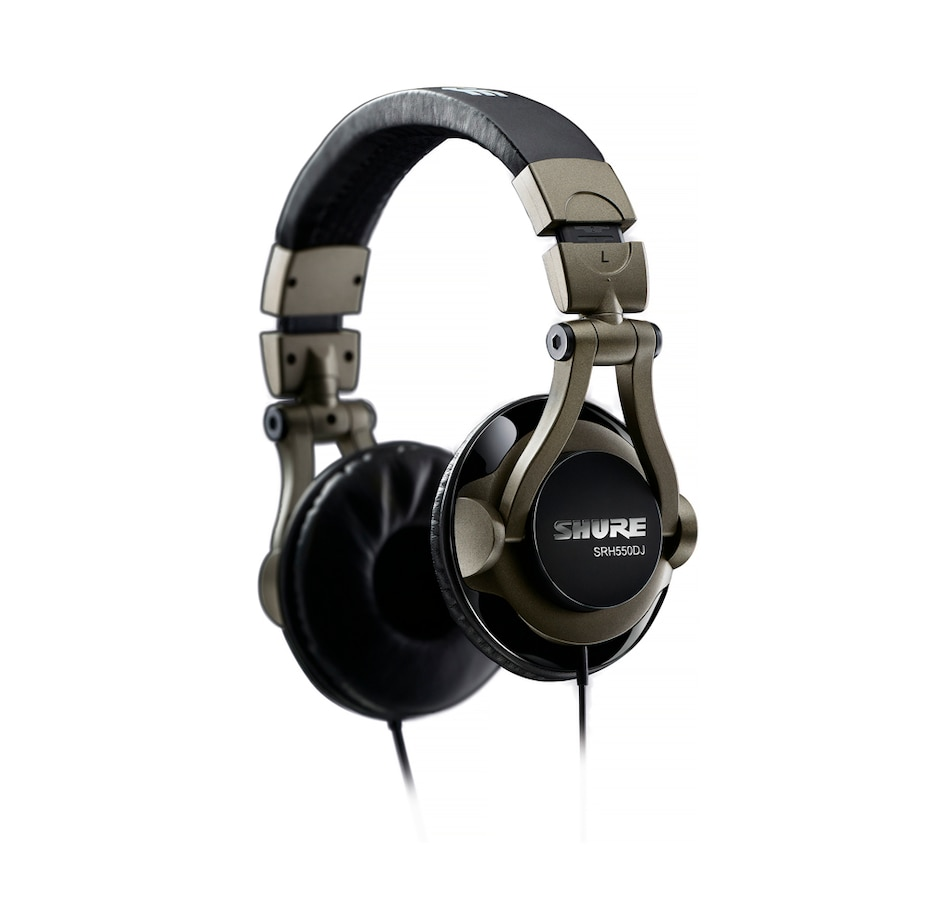 Image 691390.jpg , Product 691-390 / Price $149.99 , Shure SRH550DJ Professional DJ Headphones with Attached Cable from Shure on TSC.ca's Electronics department