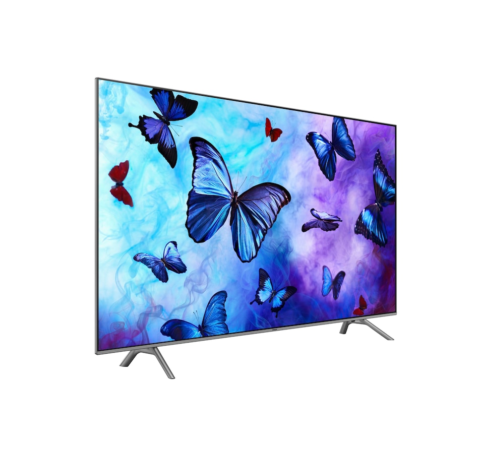 "Image 691401.jpg , Product 691-401 / Price $1,199.99 , Samsung 55"" 2018 Q6F 4K HDR 240 Motion Rate QLED Smart TV with HDMI Cable from Samsung on TSC.ca's Electronics department"