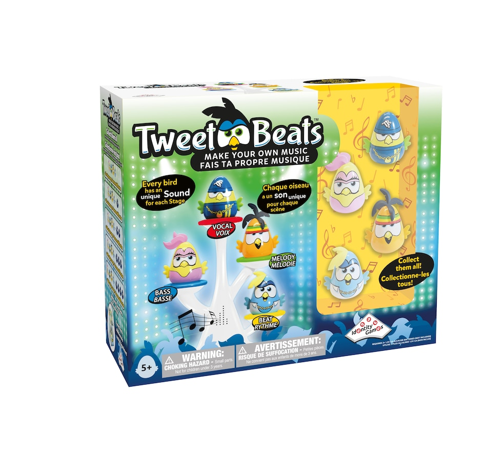 Image 691954.jpg , Product 691-954 / Price $39.99 , Tweet Beats Make Your Own Music - Pack of 4  on TSC.ca's Coins & Hobbies department