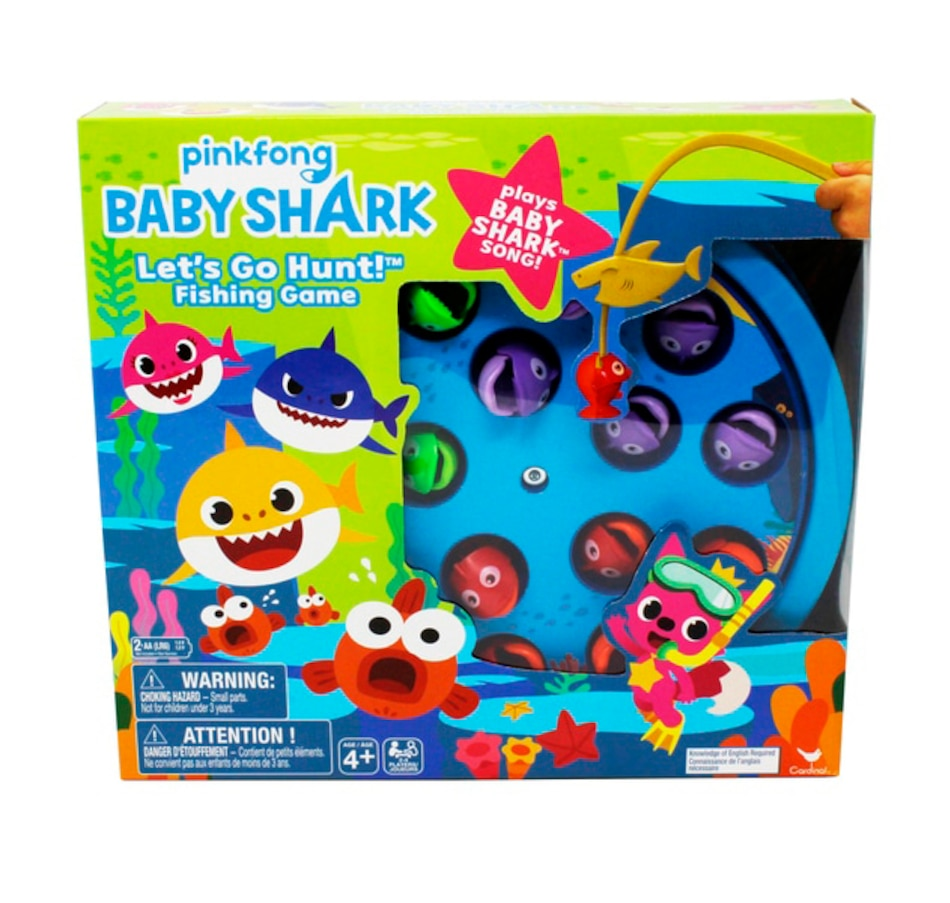 Image 691977.jpg , Product 691-977 / Price $22.99 , Baby Shark Fishing Game  on TSC.ca's Home & Garden department