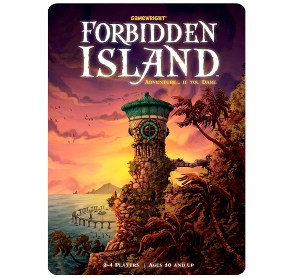 Image 691990.jpg , Product 691-990 / Price $39.99 , Forbidden Island Game  on TSC.ca's Home & Garden department