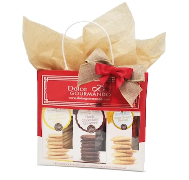 Dolce & Gourmando English Biscuits Selection Gift Bag