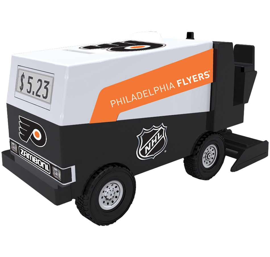 official photos 17c3a c8bba NHL Philadelphia Flyers Electronic Zamboni Coin Bank