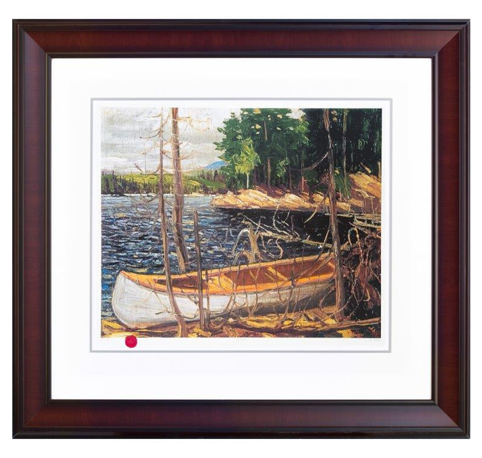 Image 697123.jpg , Product 697-123 / Price $159.99 , Group of Seven: The Canoe by Tom Thomson  on TSC.ca's Home & Garden department