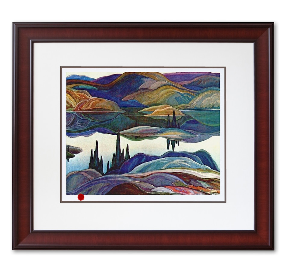 Image 697126.jpg , Product 697-126 / Price $159.99 , Mirror Lake by Franklin Carmichael  on TSC.ca's Home & Garden department