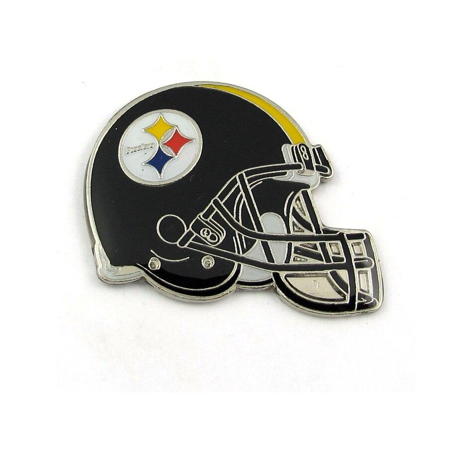 online store a533d 998db Buy NFL Pittsburgh Steelers Team Helmet Pins, 2-Pack ...