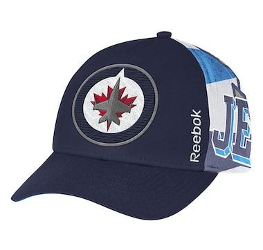 on sale 47685 ab6c7 NHL Reebok Winnipeg Jets Playoff Cap