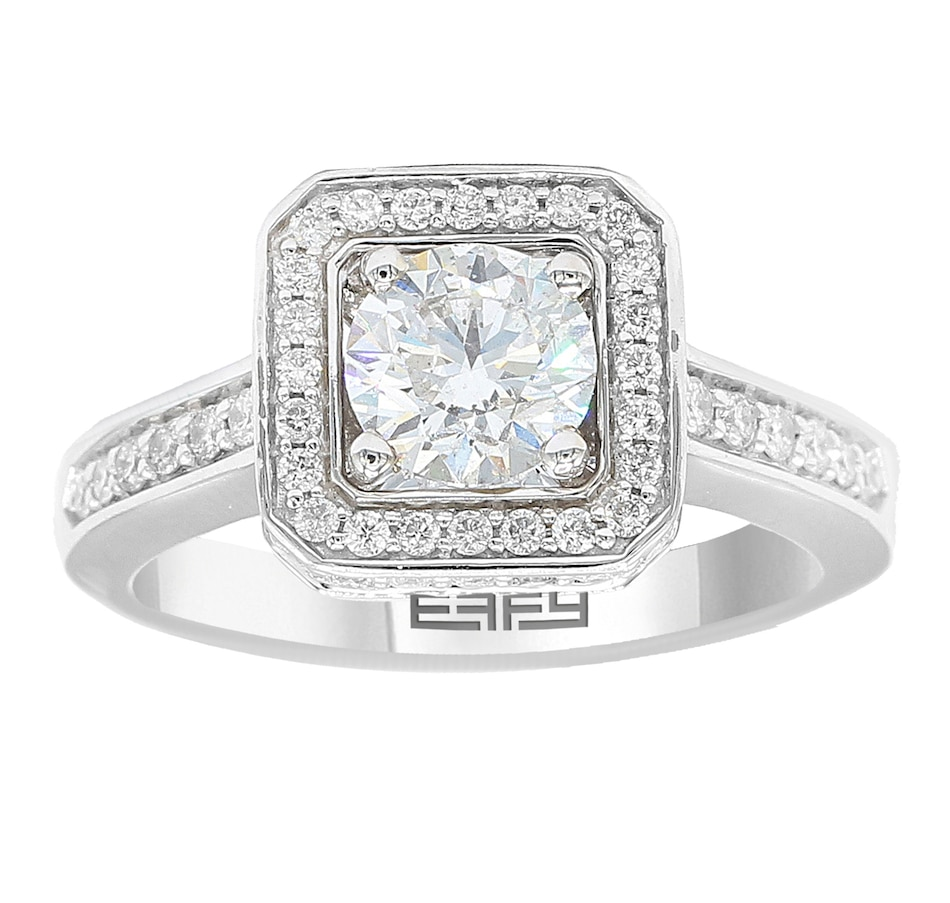 Image 701994.jpg , Product 701-994 / Price $14,999.99 , EFFY 14K White Gold 1CTW Centre Diamond Ring from Effy Jewellery on TSC.ca's Jewellery department