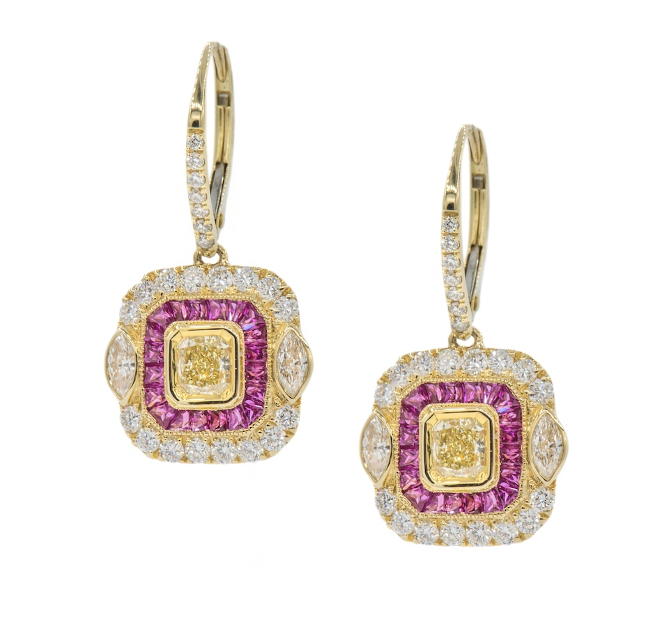 Image 702203.jpg , Product 702-203 / Price $7,499.99 , Effy 18K Yellow Gold Earrings from Effy Jewellery on TSC.ca's Jewellery department