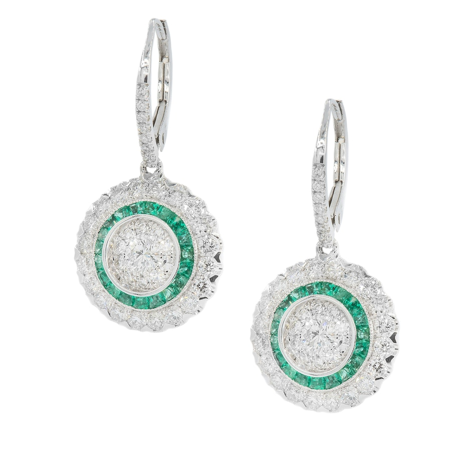 Image 702233.jpg , Product 702-233 / Price $9,999.99 , Effy 18K White Gold Earrings from Effy Jewellery on TSC.ca's Jewellery department
