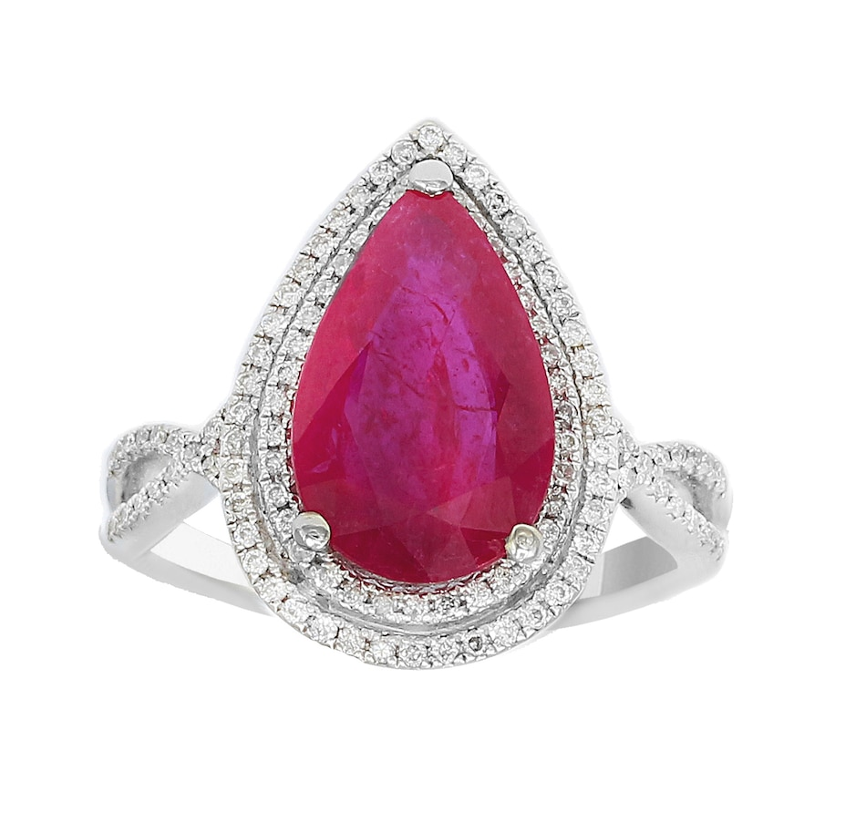 Image 702240.jpg , Product 702-240 / Price $17,499.99 , Effy 18K White Gold Ring from Effy Jewellery on TSC.ca's Jewellery department