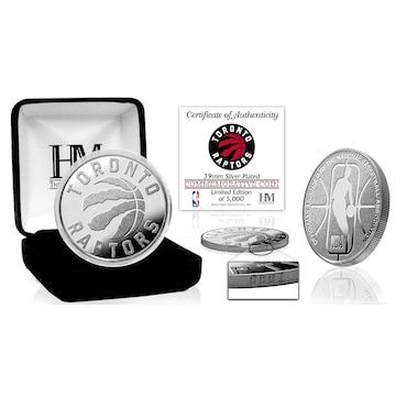 Toronto Raptors Silver Mint Coin